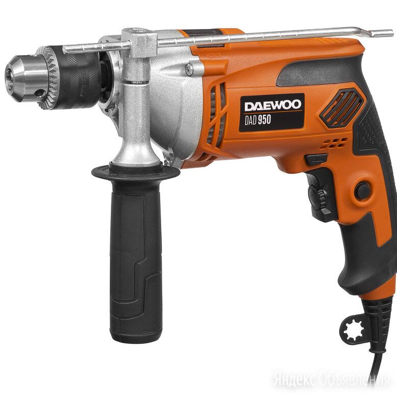 Дрель ударная DAEWOO DAD 950 по цене 3390₽ - Дрели и строительные миксеры, фото 0