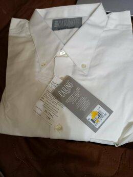Рубашки - Рубашка мужская, хлопок тонкий, с дл. рукавом, 56, 0