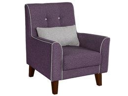 Кресла - Кресло отдыха Комфорт-1 (ножки орех), 0