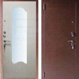 Входные двери - Входная металлическая дверь с зеркалом в Тольятти, 0