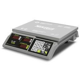 """Весы - Торговые настольные весы M-ER 326 AC-32.5 """"Slim"""" L, 0"""