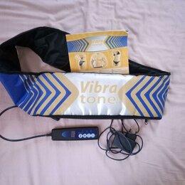 Вибромассажеры - Пояс для похудения vibra tone, 0