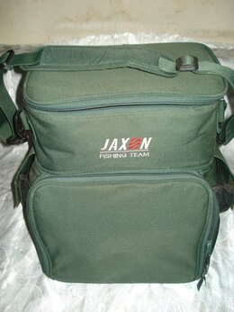 Сумки и ящики - Сумка JAXON рыболовная, 2 отделения, большая., 0