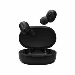 Наушники и Bluetooth-гарнитуры - Наушники Xiaomi Redmi AirDots 2, чёрный, 0
