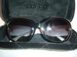 Очки и аксессуары - Солнцезащитные очки Шанель Chanel с камелиями…, 0