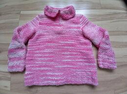 Свитеры и кардиганы - Розовый свитер с отложным воротником на молнии…, 0