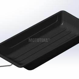 Мототехника и электровелосипеды - Сани волокуши MTR (МТР) 1700, 0