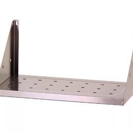 Полки - Полка навесная открытая ПНОн - 1200*300*300  нерж. сталь, перфорация, 0