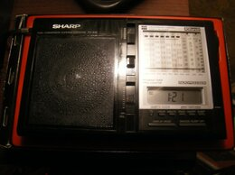 Радиоприемники - Радиоприёмник Sharp Fv-610 80-е годы, 0