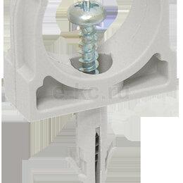 Дюбели - Держатель с защёлкой и дюбелем 25 мм для труб (CTA10D-CT25-K41-100) IEK (ИЭК), 0