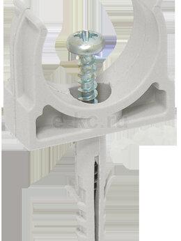 Дюбели - Держатель с защёлкой и дюбелем 25 мм для труб…, 0