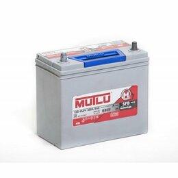 Аккумуляторы и комплектующие - Аккумулятор автомобильный Mutlu SFB M2 6СТ-45.1 (50B24R) 45Ач 360А Прямая, 0