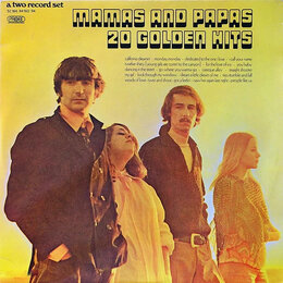 Виниловые пластинки - Mamas And Papas - 20 Golden Hits 1973 2LP -…, 0