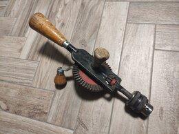 Дрели и строительные миксеры - Ручная механическая дрель, 0