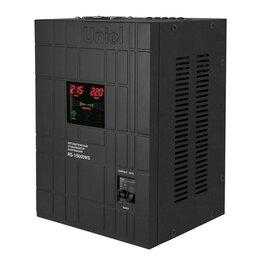 Электроустановочные изделия - Стабилизатор напряжения Uniel 5000ВА RS-1/5000WS…, 0