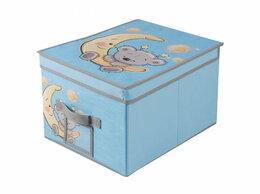 Корзины, коробки и контейнеры - Короб для хранения Мишка 400, 0