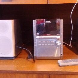 Музыкальные центры,  магнитофоны, магнитолы - Музыкальный центр Panasonic SC-PM28, 0