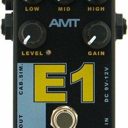 Процессоры и педали эффектов - AMT E-1 Legend Amps Гитарный предусилитель (Engl), AMT Electronics, 0