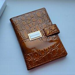 Обложки для документов - Кожаная обложка для автодокументов Dolce&Gabbana, 0