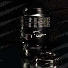 Объективы - Nikon AF 105mm F/2.8 MICRO // 7528 📸📸📸 , 0