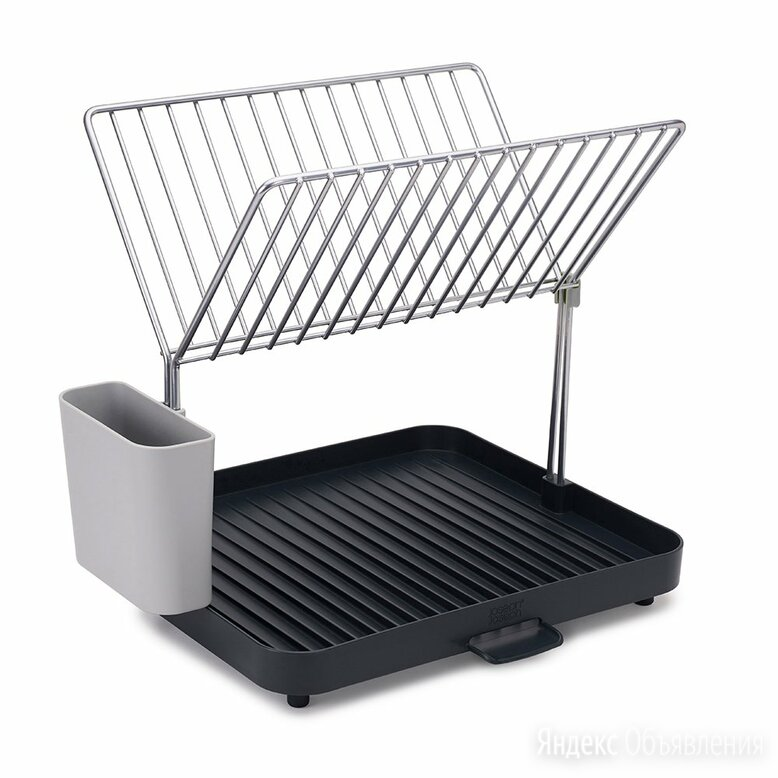 Сушилка серая для посуды и столовых приборов 2-уровневая со сливом Y-Rack  по цене 5150₽ - Комплектующие, фото 0