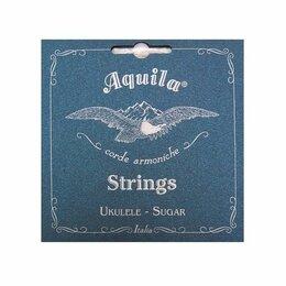 Струны - Aquila Sugar 152U струны для укулеле концерт (High G-C-E-A), 0