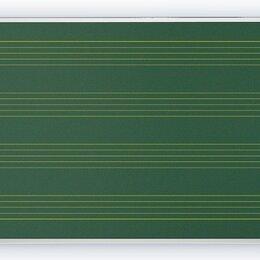Доски - Доска магнитно-меловая для музыкальной школы, Нотный стан, 0