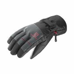 Перчатки и варежки - Перчатки SALOMON fw Force GTX Black/Forg м., 0