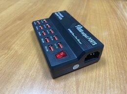 Зарядные устройства и адаптеры - 10-port USB Смарт зарядное устройство, 0