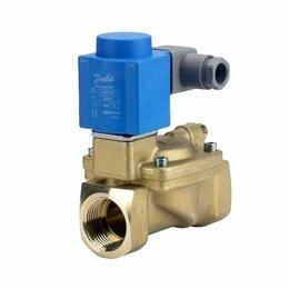Электромагнитные клапаны - Клапан электромагнитный с сервоприводом EV220B, 40 B, присоединение G, 1 1/2 DN,, 0
