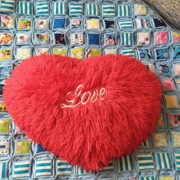 "Декоративные подушки - Подушка ""сердце"", 0"