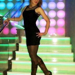 Платья - Платье чёрное трикотажное, 0