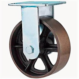 Обода и велосипедные колёса в сборе - Колесо 320100 поворотное чугунное без резины 100мм, 0