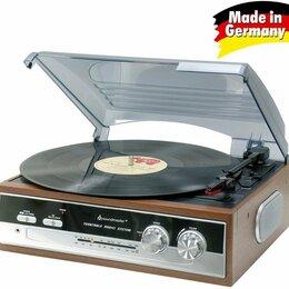 Проигрыватели виниловых дисков - Виниловый проигрыватель Soundmaster PL186 , 0