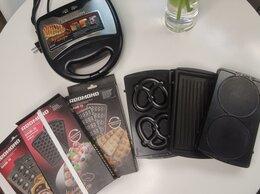 Сэндвичницы и приборы для выпечки - Мультипекарь Redmond RMB - M602 и 6 панелей, 0