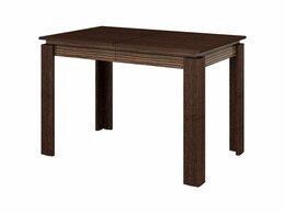 Столы и столики - Стол обеденный Орфей 16 дуб венге/зембрано глянец, 0