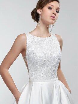 Платья - Атласное стильное свадебное платье Рената размер…, 0
