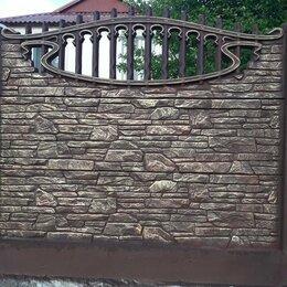 Железобетонные изделия - Декоративный бетонный Забор от производителя, 0