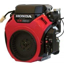 Двигатели - Двигатель бензиновый Honda GX630 QZE4 (оригинал), 0