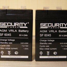 Аксессуары и запчасти - Аккумулятор для детского электромобиля 6V 4.5Ah, 0