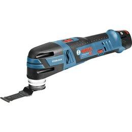 Наборы электроинструмента - Многофункциональный инструмент Bosch GOP 12V-28 (06018B5020), 12В, 2х2Ач, 0