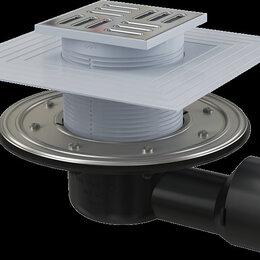Комплектующие - Сливной трап Alca Plast APV3344 105*105/50/75, 0