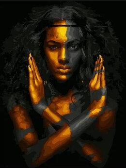 Раскраски и роспись - Картины по номерам Paintboy Черное и золотое, 0