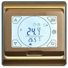 Электрический теплый пол и терморегуляторы - RTC-E91 электронный, сенсорный, программируемый терморегулятор , 0