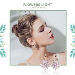 Серьги - Серьги-цветы, 0