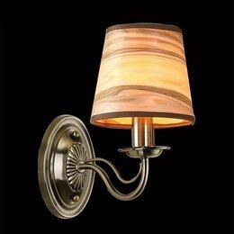 Бра и настенные светильники - Бра Eurosvet Элен 60027/1 античная бронза, 0