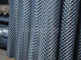 Заборчики, сетки и бордюрные ленты - Сетка рабица  50х50/1,5х10 метров, 0