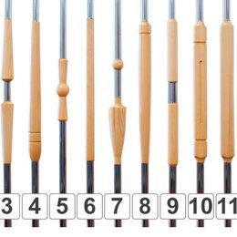 Лестницы и элементы лестниц - Комбинированные балясины из лиственницы., 0