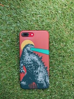 Чехлы - Чехол на iPhone 7+ Godzilla, 0