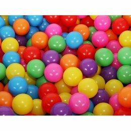 Шарики для сухих бассейнов - Шарики для сухого бассейна, диаметр 7.5, набор 180 шт,цвет разноцветный, 0